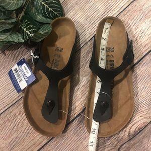 NWT Birkenstock sandal Gizeh-flor  US Sz 7 and 8